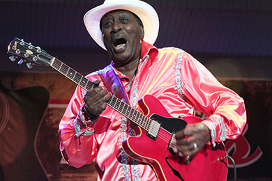 """Blues and News August 6, 2017: Eddy """"The Chief""""Clearwater"""